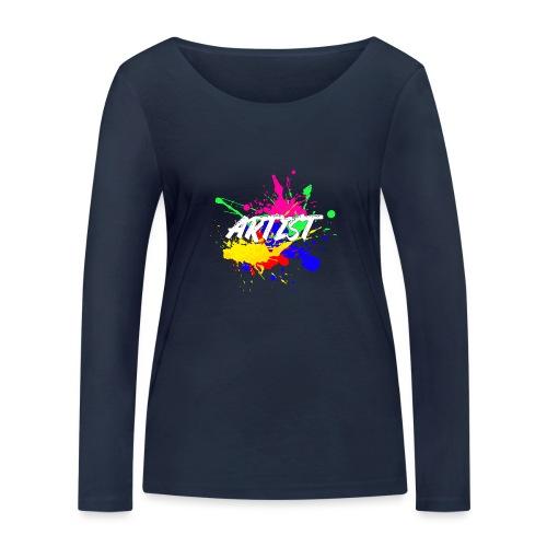 Montrez que vous êtes un Artiste International - T-shirt manches longues bio Stanley & Stella Femme