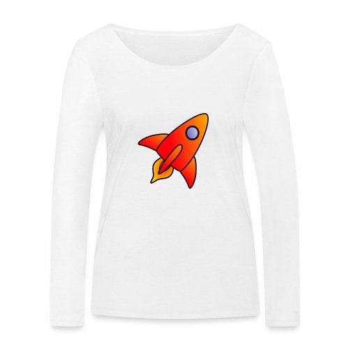 Red Rocket - Women's Organic Longsleeve Shirt by Stanley & Stella