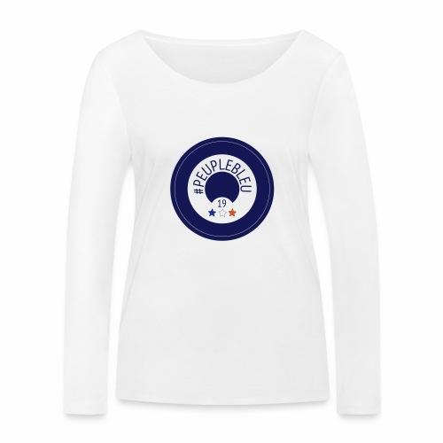 "#PEUPLEBLEU ""BORN COLLECTION"" LIMITED EDITION 2019 - T-shirt manches longues bio Stanley & Stella Femme"