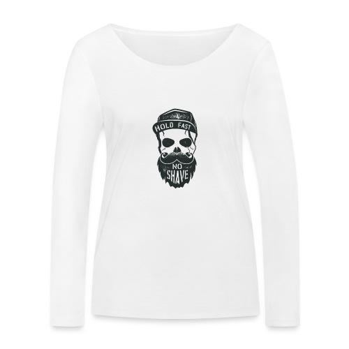 No Shave - Frauen Bio-Langarmshirt von Stanley & Stella