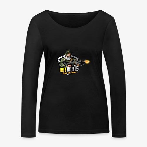 OutKasts [OKT] Logo 2 - Women's Organic Longsleeve Shirt by Stanley & Stella