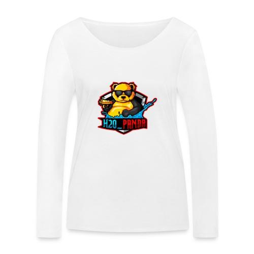 Pandas Loga - Ekologisk långärmad T-shirt dam från Stanley & Stella