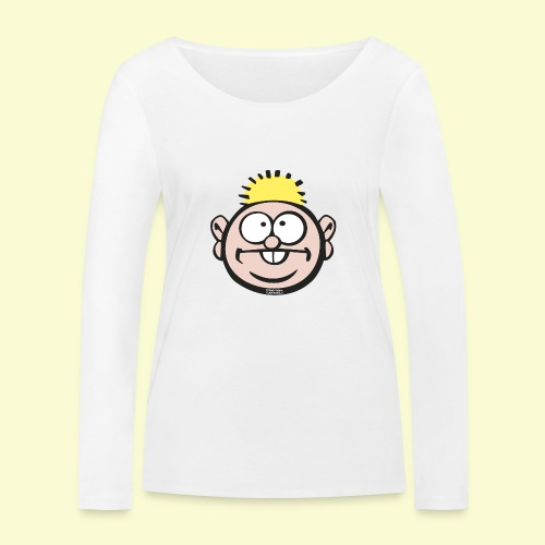 DIRKJAN - Vrouwen bio shirt met lange mouwen van Stanley & Stella