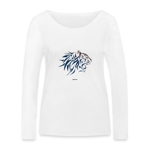 tiger vector - Camiseta de manga larga ecológica mujer de Stanley & Stella