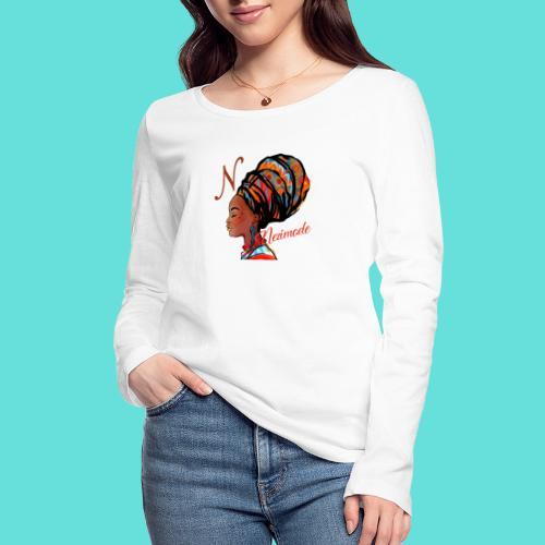 Image de mode - T-shirt manches longues bio Stanley & Stella Femme