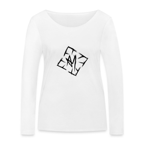 Across Yourself - Logo black transparent - Women's Organic Longsleeve Shirt by Stanley & Stella