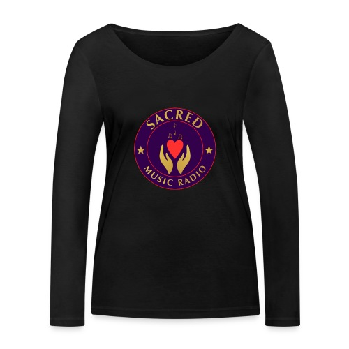 Spread Peace Through Music - Women's Organic Longsleeve Shirt by Stanley & Stella