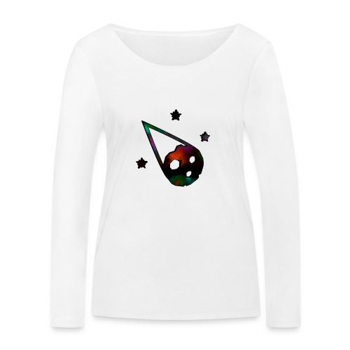 logo interestelar - Camiseta de manga larga ecológica mujer de Stanley & Stella