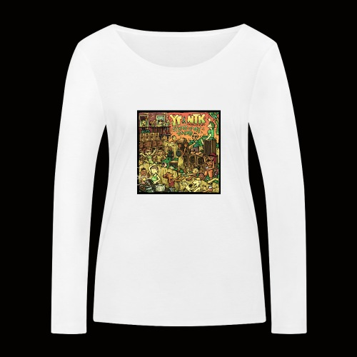 String Up My Sound Artwork - Women's Organic Longsleeve Shirt by Stanley & Stella