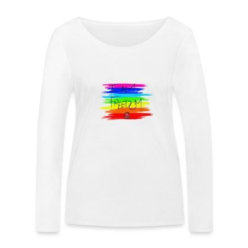 I AM FREEDOM MaitriYoga - T-shirt manches longues bio Stanley & Stella Femme
