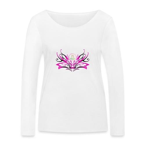 ButterFly MaitriYoga - T-shirt manches longues bio Stanley & Stella Femme