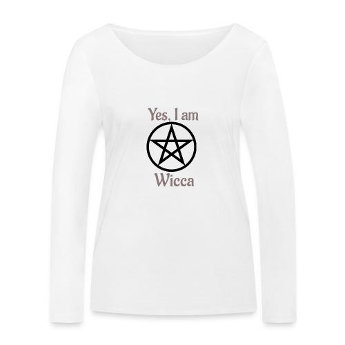 Si, soy wicca - Camiseta de manga larga ecológica mujer de Stanley & Stella