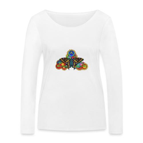 Happy Butterfly! - Frauen Bio-Langarmshirt von Stanley & Stella