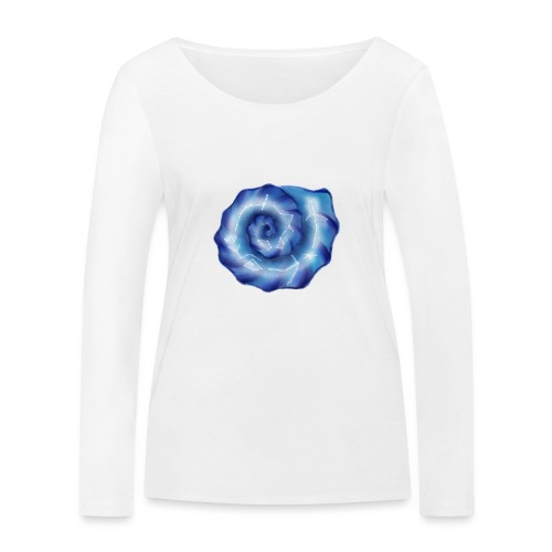 Galaktische Spiralenmuschel! - Frauen Bio-Langarmshirt von Stanley & Stella