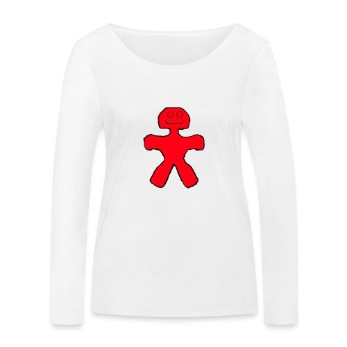 Blackie - Økologisk Stanley & Stella langærmet T-shirt til damer