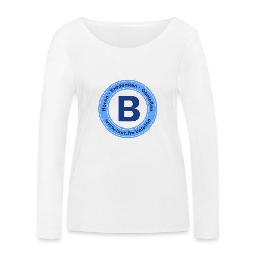 Webradio Balaton - Frauen Bio-Langarmshirt von Stanley & Stella