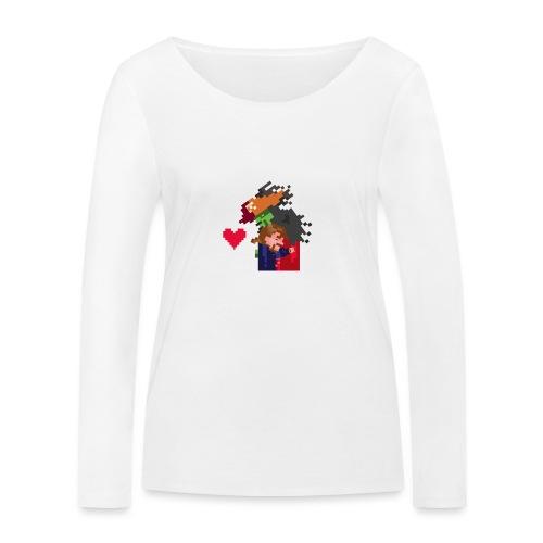 Abbracciccio-06 - Maglietta a manica lunga ecologica da donna di Stanley & Stella