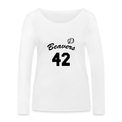 Beavers front - Vrouwen bio shirt met lange mouwen van Stanley & Stella