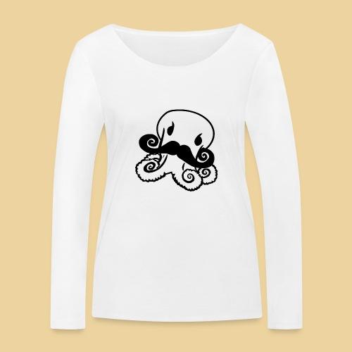 Gentle Octo - Frauen Bio-Langarmshirt von Stanley & Stella
