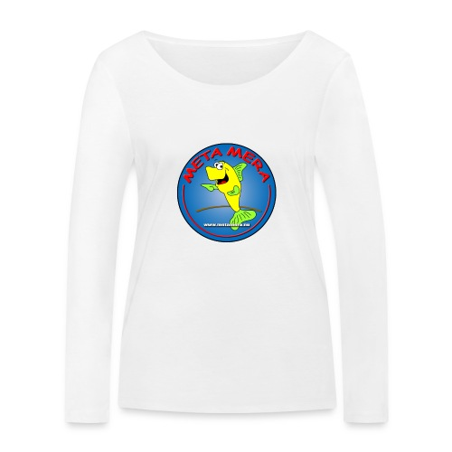 metamera_fish - Ekologisk långärmad T-shirt dam från Stanley & Stella