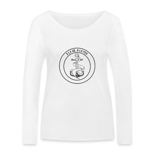 Ancre marine - T-shirt manches longues bio Stanley & Stella Femme