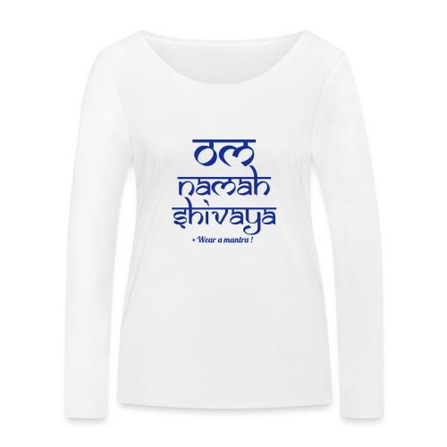 OM NAMAH SHIVAYA - Maglietta a manica lunga ecologica da donna di Stanley & Stella