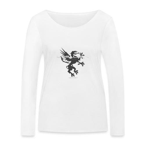 Chillen-1-dark - Women's Organic Longsleeve Shirt by Stanley & Stella