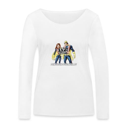 Superhelden & Logo - Frauen Bio-Langarmshirt von Stanley & Stella