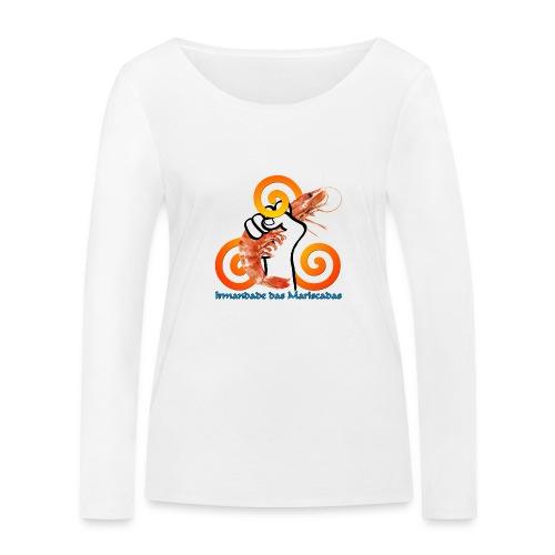 Irmandade das Mariscadas - Camiseta de manga larga ecológica mujer de Stanley & Stella
