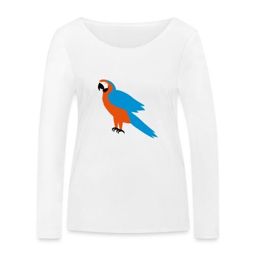 Parrot - Maglietta a manica lunga ecologica da donna di Stanley & Stella