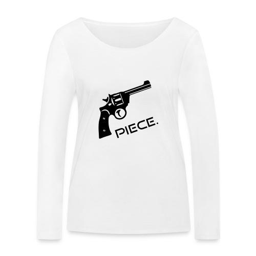 Waffe - Piece - Frauen Bio-Langarmshirt von Stanley & Stella