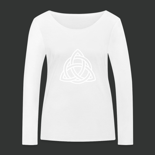 Celtic Knot — Celtic Circle - Women's Organic Longsleeve Shirt by Stanley & Stella