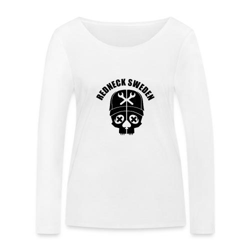Redneck sweden dam - Ekologisk långärmad T-shirt dam från Stanley & Stella