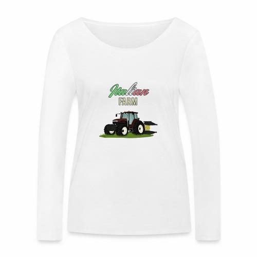 Italian Farm official T-SHIRT - Maglietta a manica lunga ecologica da donna di Stanley & Stella