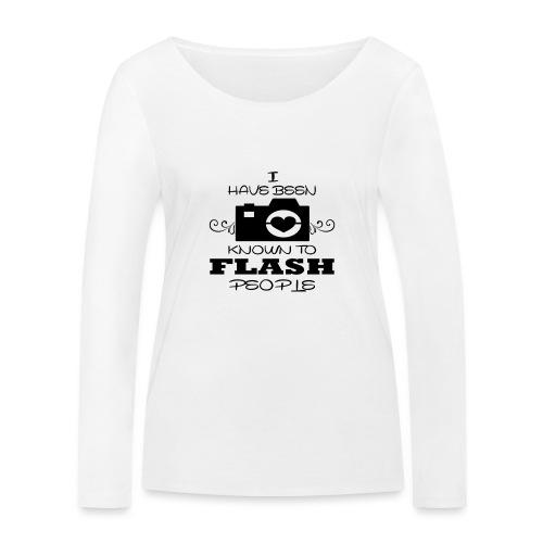 Photographer - Women's Organic Longsleeve Shirt by Stanley & Stella