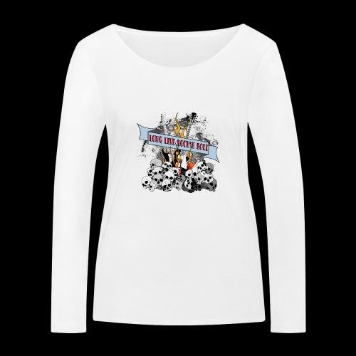 long live - Ekologisk långärmad T-shirt dam från Stanley & Stella
