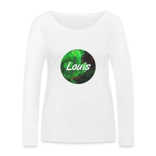 Louis round-logo - Frauen Bio-Langarmshirt von Stanley & Stella