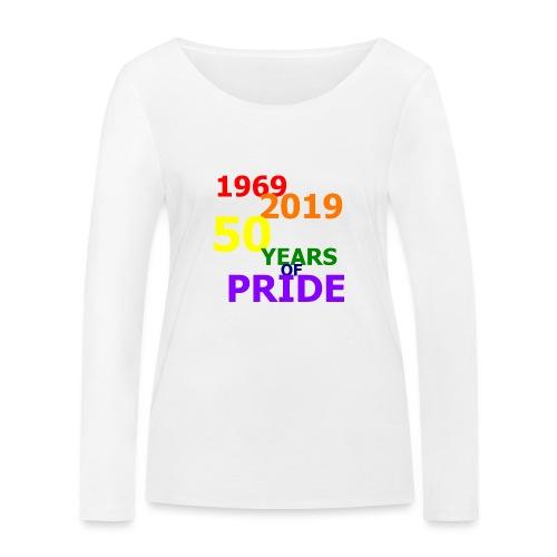 50 Jahre CSD - Frauen Bio-Langarmshirt von Stanley & Stella