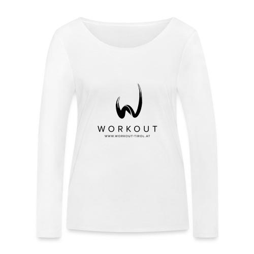 Workout mit Url - Frauen Bio-Langarmshirt von Stanley & Stella