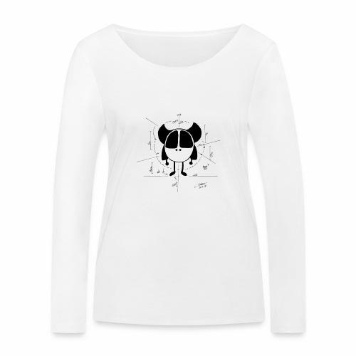 Kleine Monster - Skizze - Frauen Bio-Langarmshirt von Stanley & Stella