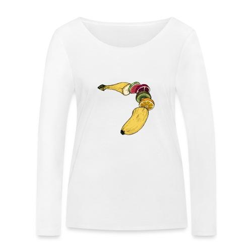 Fruitana - Frauen Bio-Langarmshirt von Stanley & Stella