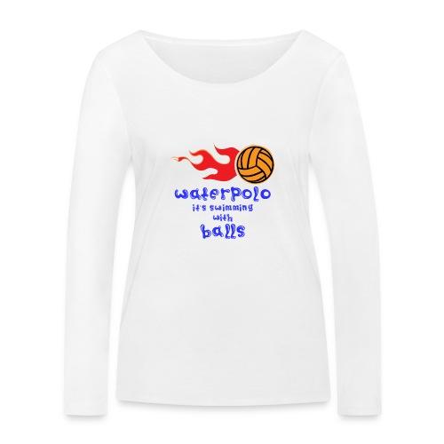 Waterpolo - Maglietta a manica lunga ecologica da donna di Stanley & Stella