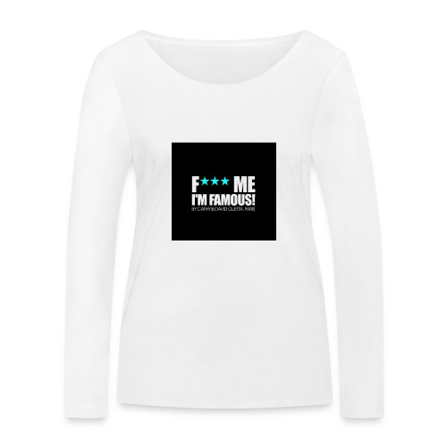 FMIF Badge - T-shirt manches longues bio Stanley & Stella Femme