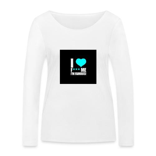 I Love FMIF Badge - T-shirt manches longues bio Stanley & Stella Femme