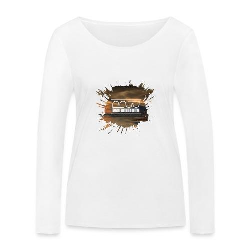 Women's shirt Splatter - Women's Organic Longsleeve Shirt by Stanley & Stella