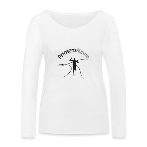 PrinsensMinne logga - Ekologisk långärmad T-shirt dam från Stanley & Stella