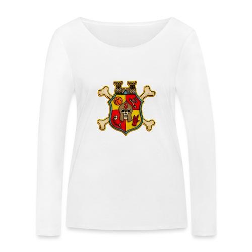 Teenager Premium T-Shirt - Wappen Burg Schreckenst - Frauen Bio-Langarmshirt von Stanley & Stella