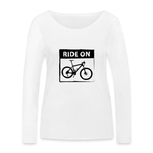 Ride On MTB 1 Color - Frauen Bio-Langarmshirt von Stanley & Stella