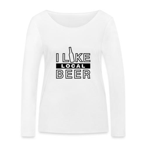 I Like Local Beer (swity) - Frauen Bio-Langarmshirt von Stanley & Stella