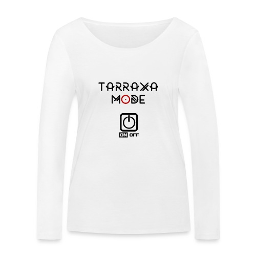 Tar Mode Black png - Women's Organic Longsleeve Shirt by Stanley & Stella